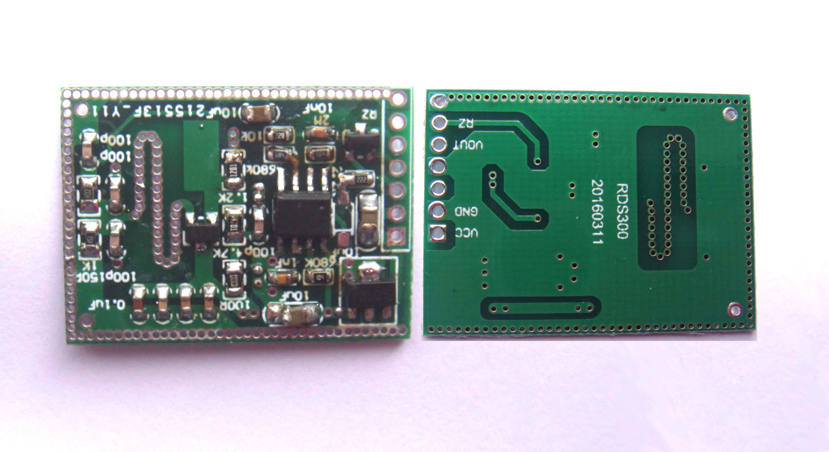 rds300微波雷达感应开关模块